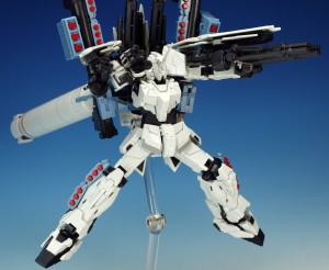 Robot Spirits Unicorn Gundam Full Armor Side MS Fully Equipped