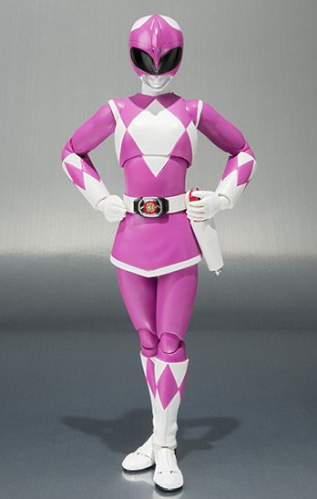 Bandai Pink Ranger Mighty Morphin Power Rangers SH Figuarts