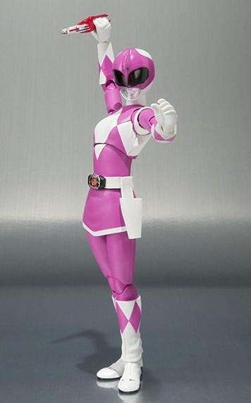Bandai SH Figuarts Mighty Morphin Power Rangers Pink Ranger with Blade Blaster