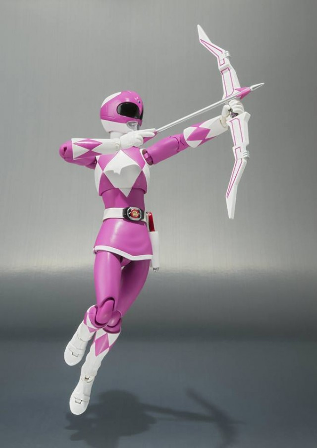 S.H. Figuarts Pink Ranger Mighty Morphin Power Rangers Bandai Figure