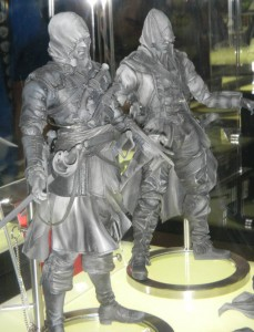 Assassin's Creed Play Arts Kai Connor & Edward Kenway Figures SDCC 2013