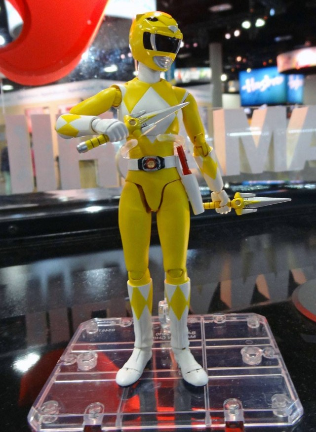 SH Figuarts Yellow Ranger Female Body Mighty Morphin Power Rangers