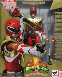 SH Figuarts Armored Red Ranger Figure Packaged