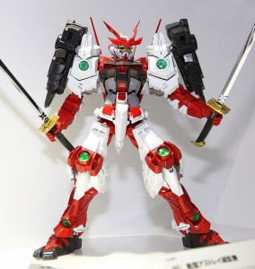Gundam Build Fighters Sengoku Astray Gundam MG 1 100 Model Bandai 2014
