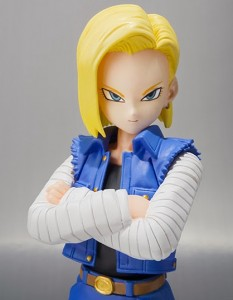 2014 Dragonball Z SH Figuarts Android 18 Figure Announced