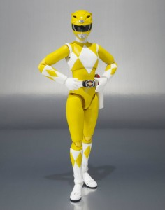 Yellow Ranger SH Figuarts Mighty Morphin Power Rangers Figure 2014