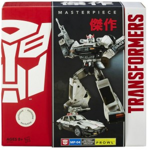 Transformers Masterpiece Prowl MP-04 Hasbro United States Box