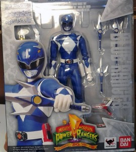 SH Figuarts Blue Ranger Released Mighty Morphin Power Rangers Packaged