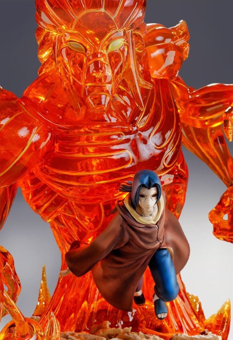 Tsume Naruto Itachi Uchiha HQS Statue Revealed & Photos