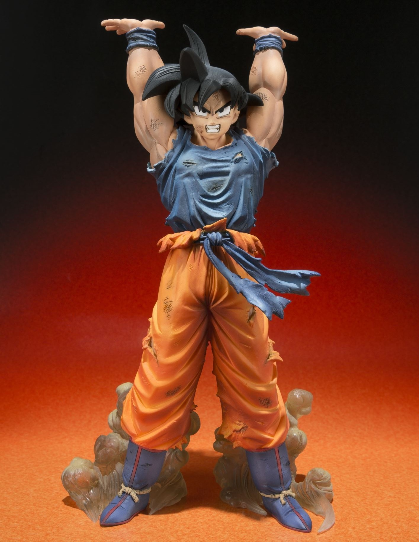 Sdcc 2014 figuarts zero dbz goku spirit bomb figure - Dragon ball z goku son ...