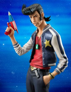 MegaHouse Space Dandy Dandy Excellent Model with Ray Gun