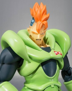 DBZ SH Figuarts Android 16 Battle Damaged Head
