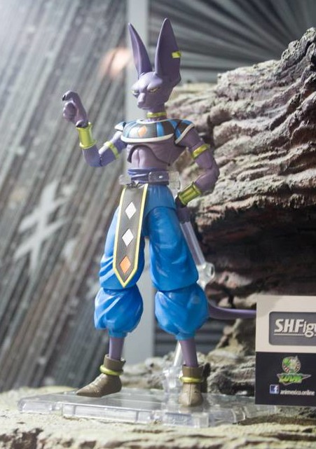 Dragon Ball Z S.H. Figuarts Beerus Figure
