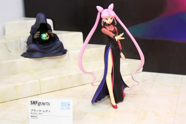 SH Figuarts Black Lady Action Figure with Wiseman